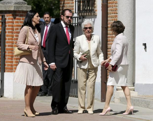 Sus abuelos maternos, la mujer de su abuelo y la bisabuela. (GTRES)