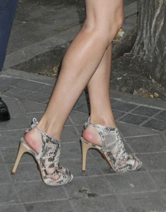 Súper piernas. (GTRES
