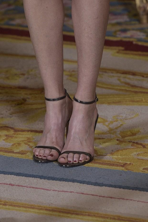 Sandalias de Carolina Herrera no aptas para pedicuras incorrectas. (GTRES)