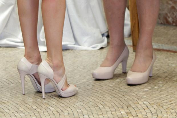Los zapatos, más de cerca. (GTRES)