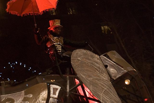 No hará falta paraguas en las cabalgatas de Reyes. Foto Alotor.