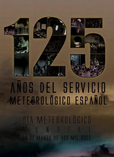 Cartel de la AEMET conmemorativo del DMM 2012
