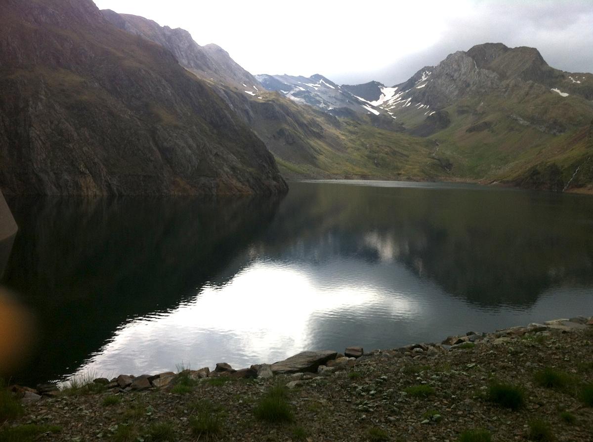 Presa de Llauset, entre Huesca y Lérida, a 2.100 msnm.