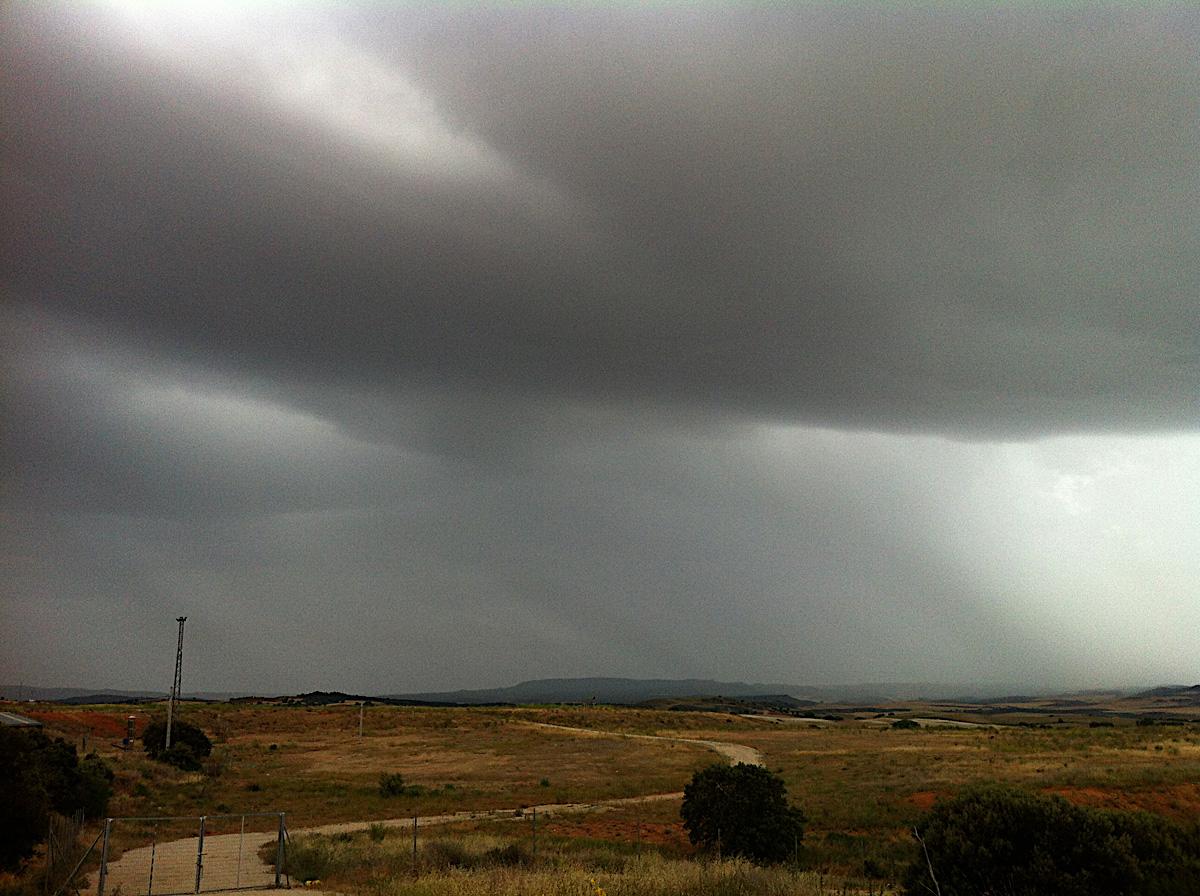 Desde la escombrera al sur de Cuenca. Foto Emilio Rey.