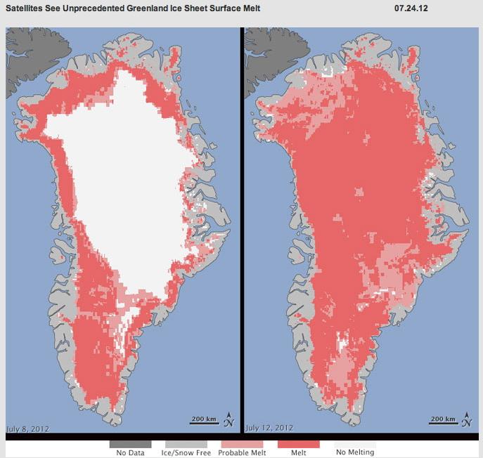 Ojo, el hielo no ha desaparecido, que es lo que parece indicar esta imagen de la NASA.