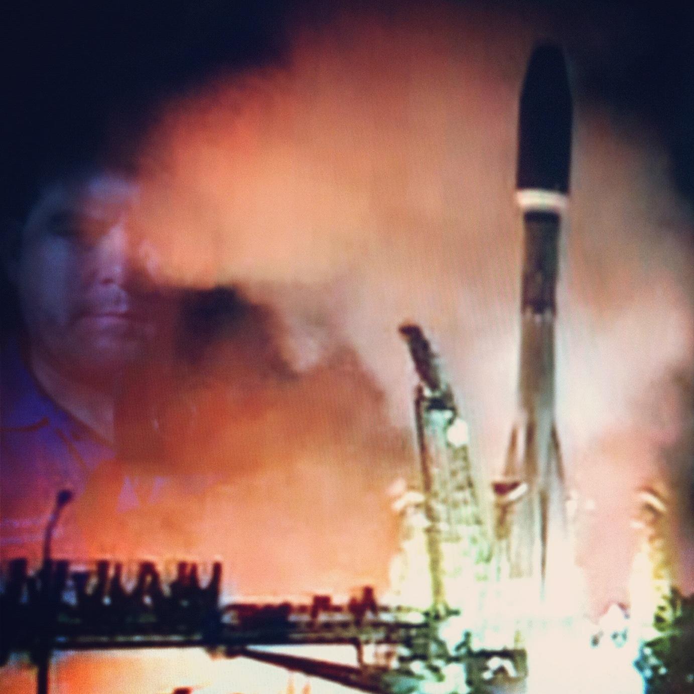 Vigilando el lanzamiento, hace escasos 20 minutos...