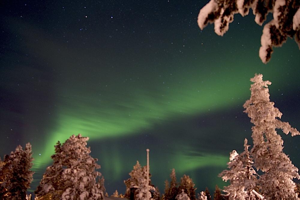 Las Luces del Norte aportaron la magia. Foto ER/Sony Alfa77