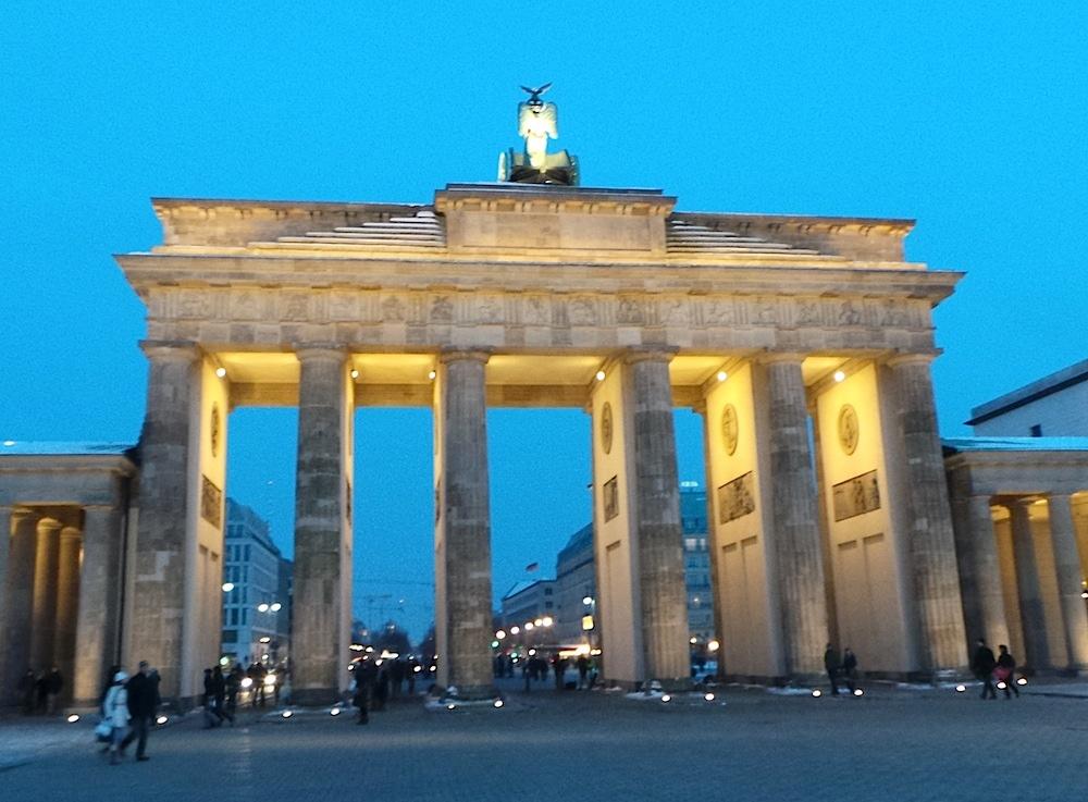 La Puerta de Brandenburgo en Berlín. Foto ER.