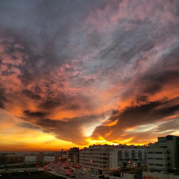 Candilazo en el norte de Madrid. Foto Galaxy Camera, ER.