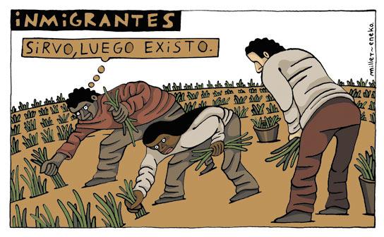 emigrantes inmigrantes: