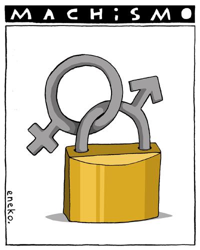 dibujos machistas: