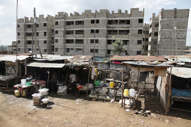 Avanza la primera fase de las obras de urbanización de Kibera, el barrio de chabolas más grande de África (Foto: Hernán Zin)