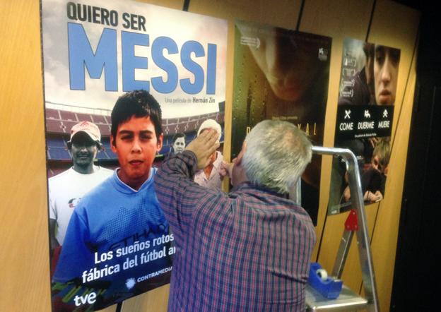 """Estreno este viernes en Madrid del documental  """"Quiero ser Messi"""" (foto: Hernán Zin)"""