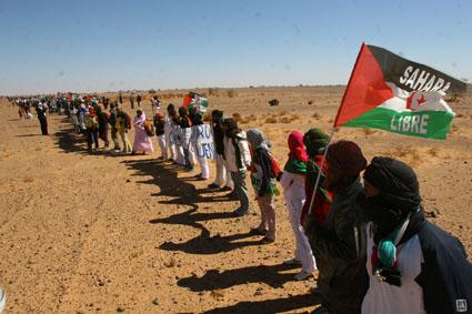 manifestacion sahara libre | Viaje a la guerra