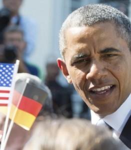 obama en Berlín