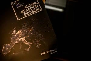 Aspecto de la publicidad institucional del PE sobre las elecciones 2014
