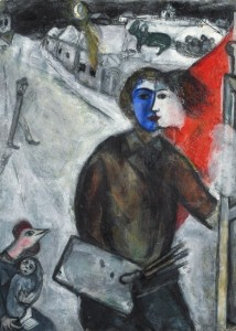 'Between Darkness and Light,1938-1943'. Marc Chagall.
