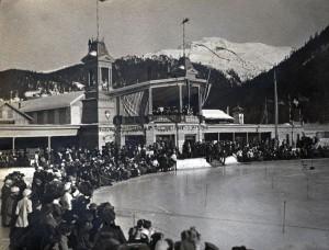 Davos, durante la primera década del siglo XX (Flyout).