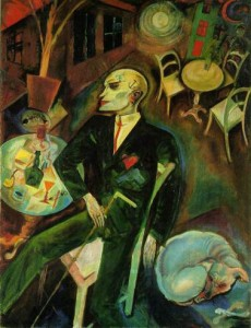 Lovesick Man (Georg Grosz), 1916