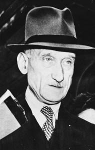 Robert Schuman, en 1949. (BILD/WIKIPEDIA)