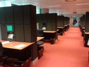 Centro de prensa de la sede del PE en Estrasburgo (N.S).