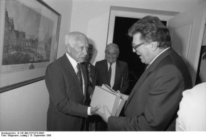 Ernst Jünger en 1986 (German Federal Archives)