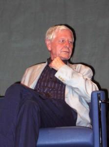 Hans Magnus Enzensberger, en Polonia (2006). Autor: Mariusz Kubik.