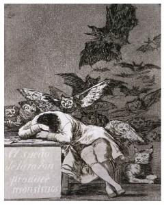 El Sueño de la Razón, de Goya (Nelson-Atkins Museum of Art)