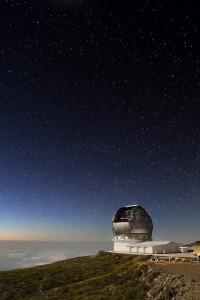 Telescopio en La Palma (Pablo Bonet / IAC)