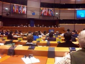 Sesión del Parlamento Europeo. (EFE)