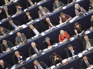 Una sesión del PE en Estrasburgo (EFE).