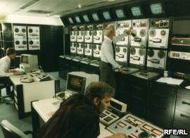 Los antiguos estudios centrales de REL, en Munich, en los años ochenta.