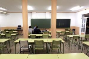 Un aula de Instituto de Educación Secundaria, en una imagen de archivo