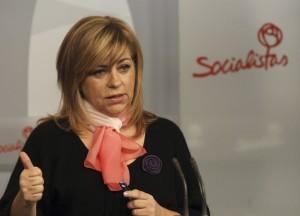 Elena Valenciano, durante un acto del PSOE (EFE)