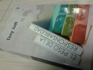 Cubierta del nuevo libro de Tony Judt (N.S.)