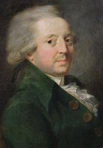 El marques de Condorcet, en un óleo de Greuze que está en Versalles.