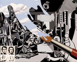 'El pincel mágico', de Equipo crónica (Fundación Juan March)