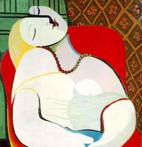 El sueño (Picasso).