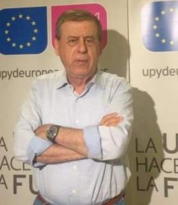 El eurodiputado Francisco Sosa Wagner, cabeza de lista de UPyD en los últimos comicios europeos.