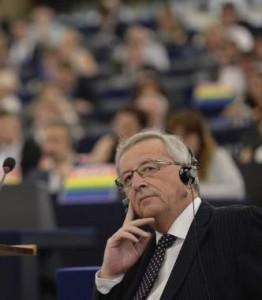 Juncker, en el PE. (Imagen: EFE)