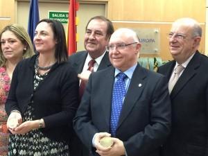 La foto de los ganadores del Premio Ciudadano Europeo (Imagen: @PE_Espana)