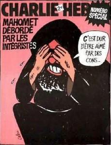 Una de las portadas de 'Charlie Hebdo'.