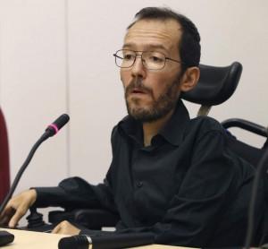 Pablo Echenique, el último eurodiputado de Podemos en anunciar que se presenta en España. (EFE)
