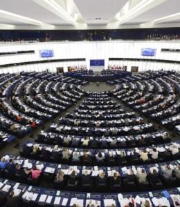 Sesión plenaria en Estrasburgo (SEEGER / EFE)