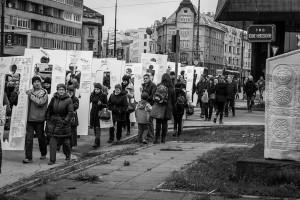 Manifestantes en diciembre del año pasado pidiendo que se aplique la ley en la búsqueda de desaparecidos (ICMP)