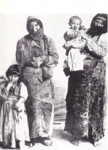 Una familia armenia (foto cedida por J. A. Gurriarán).