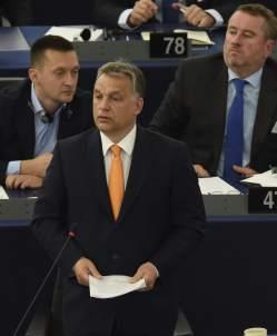 Viktor Orban, en Estrasburgo, este pasado mayo (EFE)