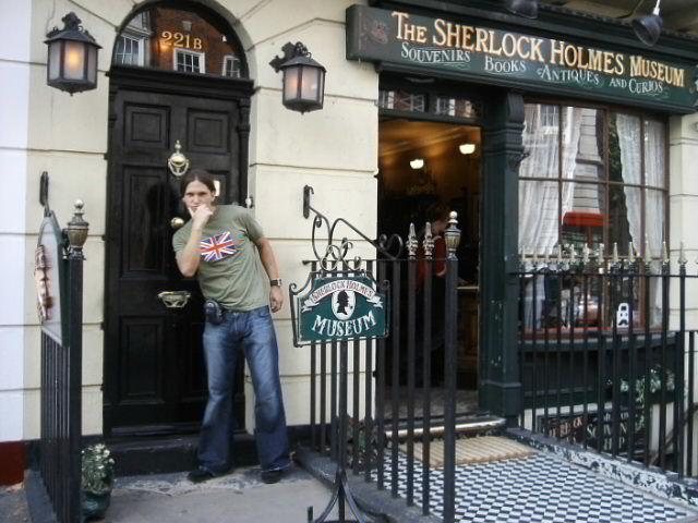 En la casa de sherlock holmes ez cultura - Casa de sherlock holmes ...