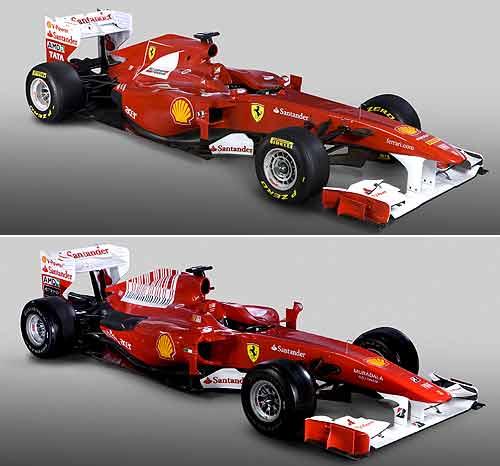 Comienzan las presentaciones de los monoplazas para 2011 Ferrari010211