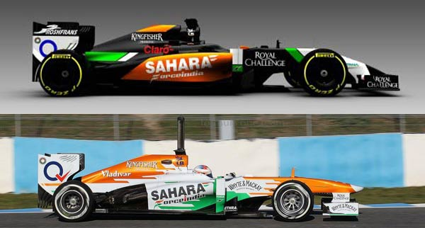 Fotos: Force India